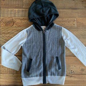 Splendid sweater hoodie 5/6